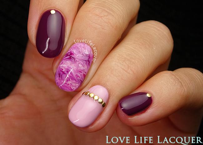Estremamente Love Life Lacquer: Easy Marble Nails | Gel Nail Art NR27