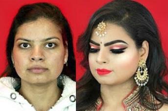 Makeup Transformation: ACNE SCARS, OPEN PORES – Indian Bridal Makeup