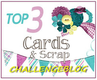 Top 3 at Cards and Scrap.nl