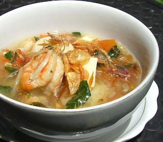 Resep Sup Cumi Seafood