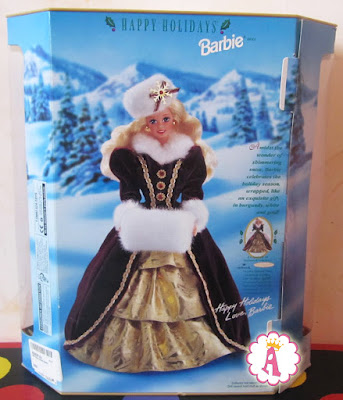 Happy Holidays Barbie 1996