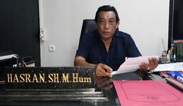 Kasat Reskrim AKP Hasran, SH, M.Hum