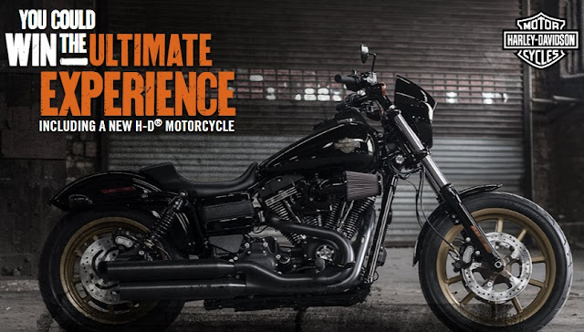 Harley Davidson Motorcycles wants you to enter once for a shot at winning TWO motorcycles AND a trip to Vegas to see UFC 200 and attend their pro riding academy!