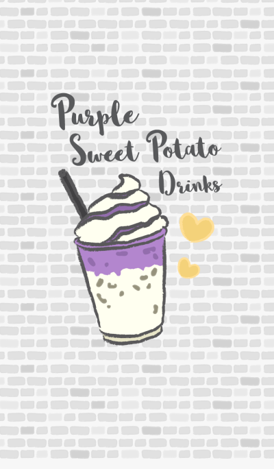 Purple Sweet Potato Drinks