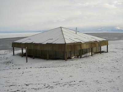 Antarctic Explorers Abandoned Huts In Antarctica