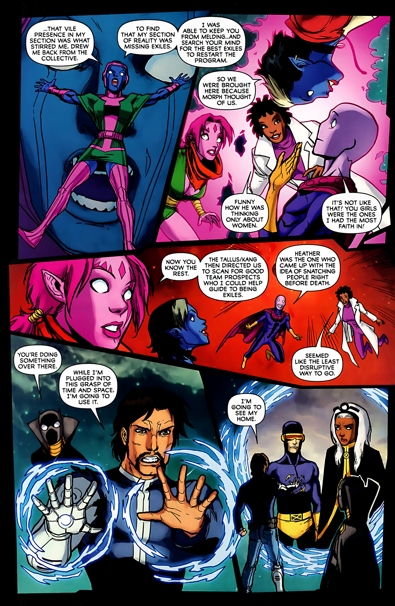 Read online Exiles (2009) comic -  Issue #6 - 33