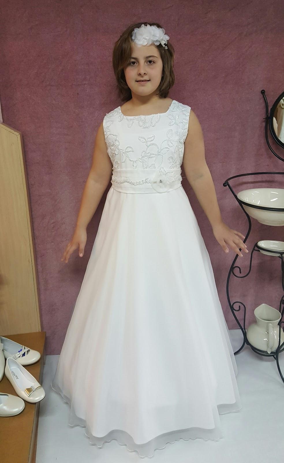 vestidos de primera comunion para ninas grandes