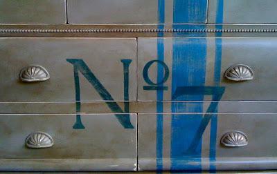 Refinished dresser by Denise Cerro
