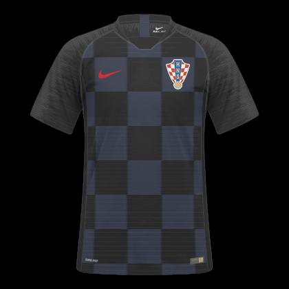 cec37a4e3166c Camisas Originais  HOME   AWAY Descrição  Essas são as camisas da Seleção  Croata utilizadas nessa Copa do Mundo de 2018. A Nike fez as camisas no  template ...