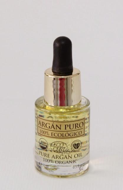 Serúm facial Aceite puro de Argán
