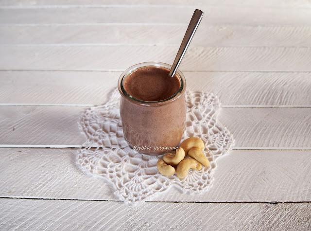 Kakaowy krem z pulpy po mleku roslinnym
