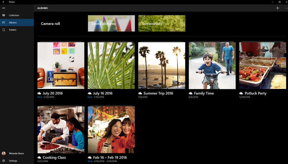 application Windows 10 Photos
