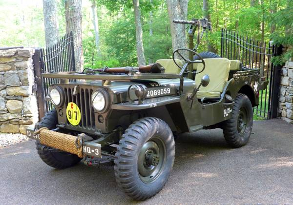 fully restored 1952 willys army jeep auto restorationice. Black Bedroom Furniture Sets. Home Design Ideas