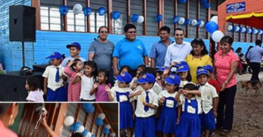 DRE Madre de Dios inauguró infraestructura de I.E. Inicial 402 «Antonio Guevara Chávez» en Asociación de Vivienda 11 de Febrero - www.dredmdd.gob.pe