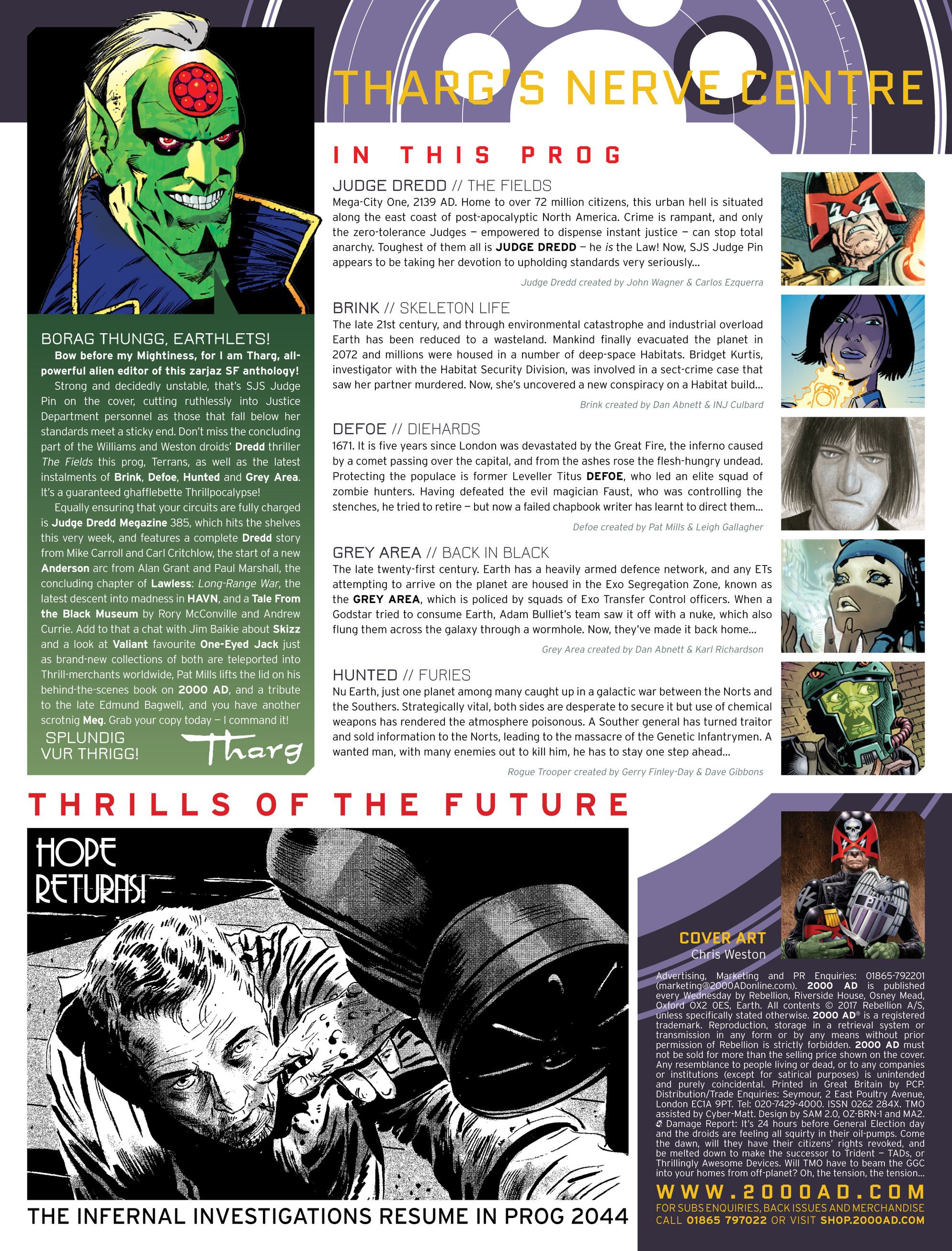 Read online 2000 AD comic -  Issue #2036 - 2