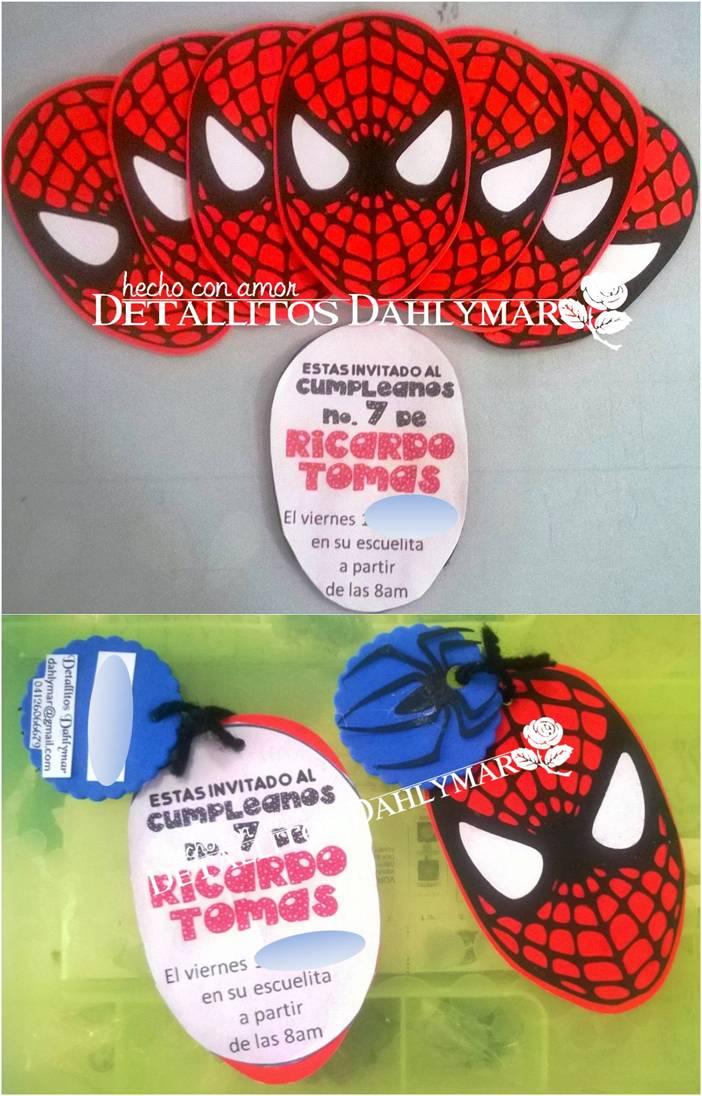 Detallitos Dahlymar.-: Fiesta Spiderman!!