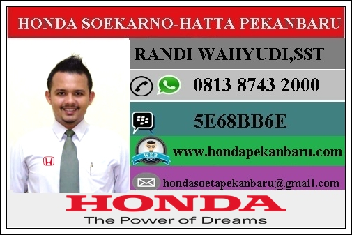 Paket Kredit Honda Brio  Pekanbaru Riau Januari 2017