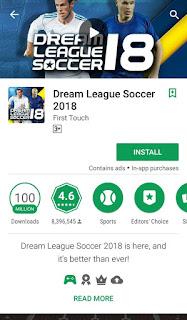 استمتع بتحميل معشوقه الجماهير Dream League 2018 مهكره مجانا .!