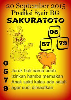 September Sakuratoto Agen Togel Terpercaya Togel Online Deposit