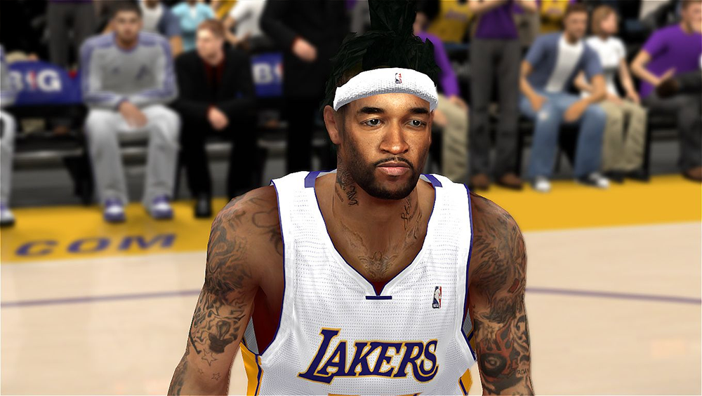 NBA 2K14 Jordan Hill Hair Update Mod
