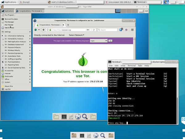 Dockernymous - سكريبت تستخدم لإنشاء بيئة مثل بوابة / محطة العمل مع حاويات دوكر