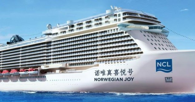 Norwegian Joy Is The First Ncl Ship For Chinese Market Ship Cruises