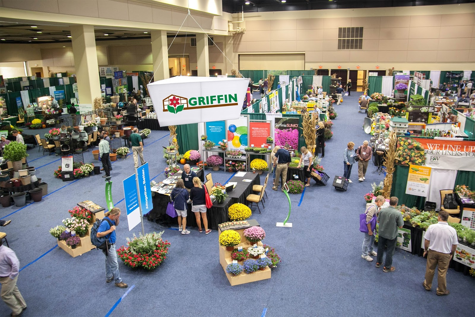 Exceptionnel The Expos Are Open To Griffin Customers Of All Types Including Greenhouse  And Nursery Growers, Independent Garden Centers And Controlled Environment  ...