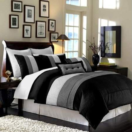 Amazing Black And White Bedrooms Pictures Ideas