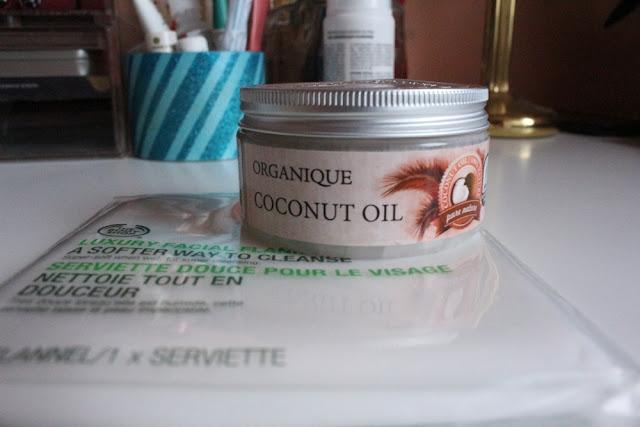 Organique Olej kokosowy