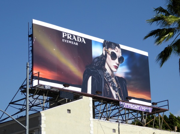 Vittoria Ceretti Prada Eyewear Fall Winter 2016 billboard