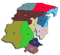 Peta Kabupaten Tanah Timur