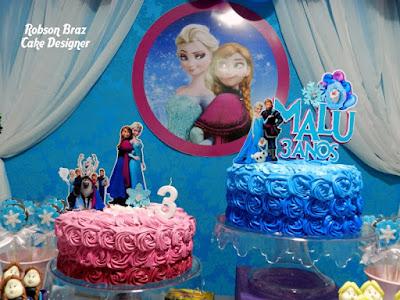 Bolo do Cake Design Robson Braz.