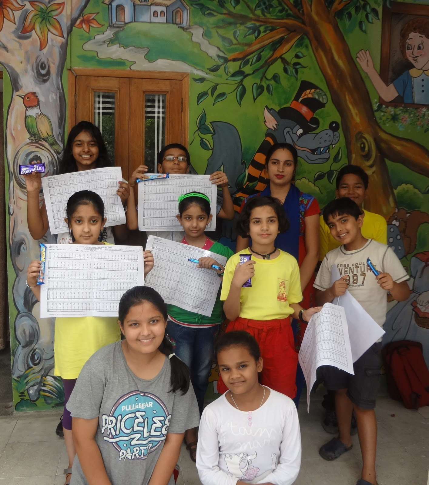 Ucmas Abacus For Kids June