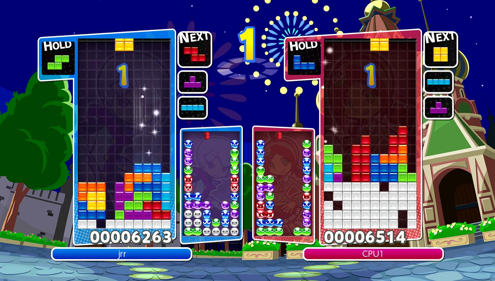SuperPhillip Central: Puyo Puyo Tetris (NS, PS4) Review
