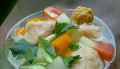 Sup Tomat Bola Udang