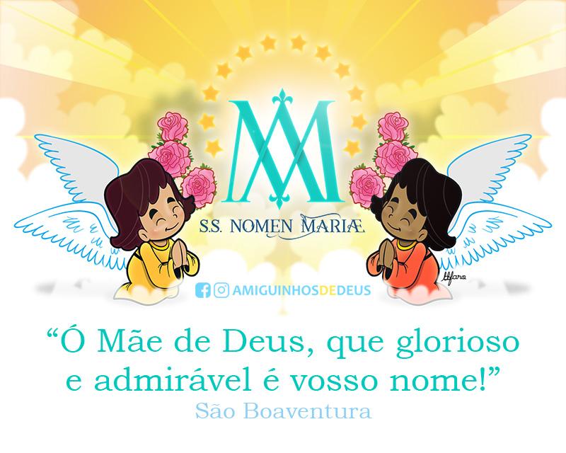 Festa do Santíssimo Nome de Maria desenho