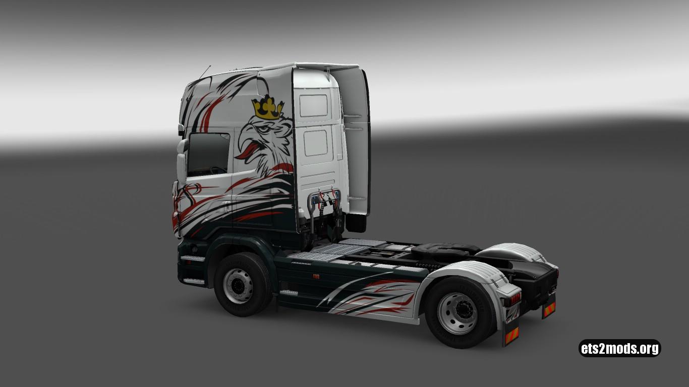 V8 Skin for Scania R