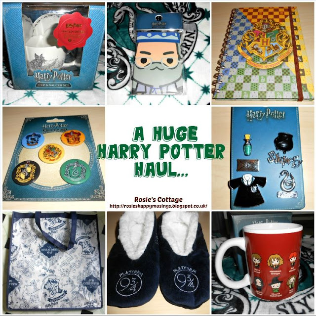 Rosie's Latest Harry Potter Haul...
