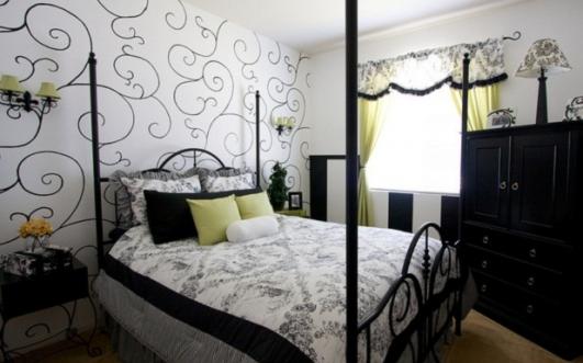 Deco chambre interieur inspirations de papier peint pour - Papier peint chambre a coucher ...