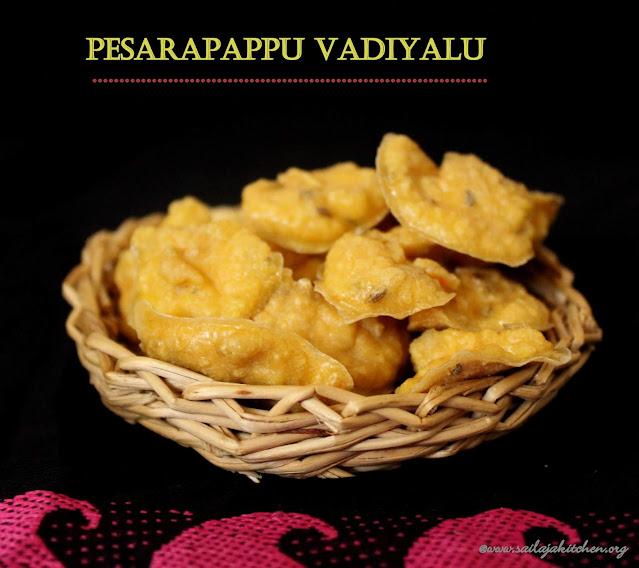 images of Pesarapappu Vadiyalu / Pesara Vadiyalu / Moong Dal Vadiyalu / Moongh Dal Vadam / Andhra Style Vadam / Vadam / Vathal Recipe