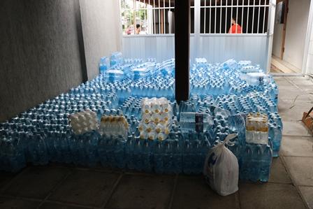 Colégio Motivo arrecada 17 toneladas em doações para vítimas das chuvas