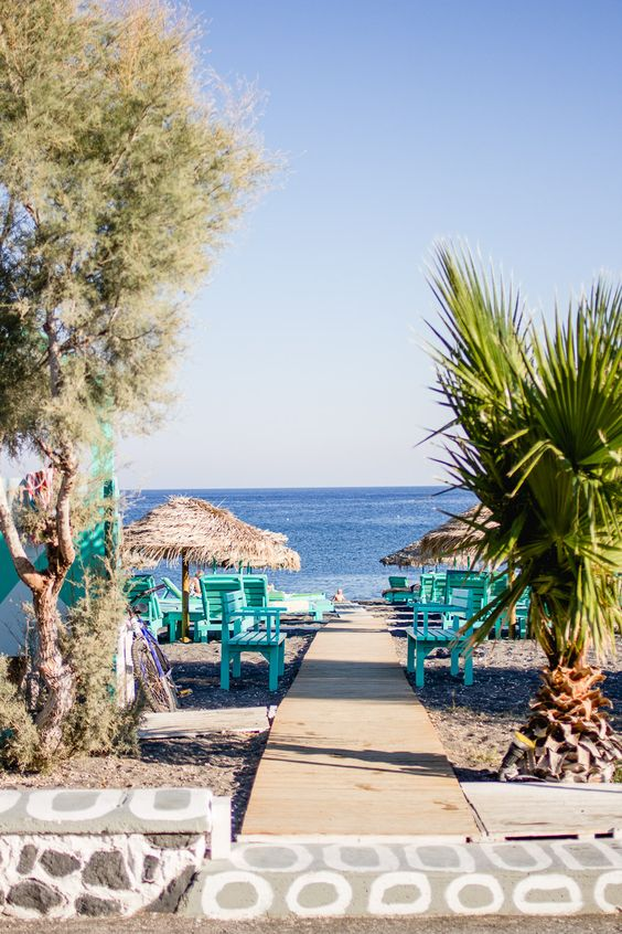 Perissa Beach - Ioanna's Notebook