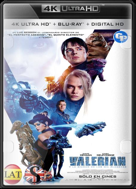 Valerian y la Ciudad de los Mil Planetas (2017) 4K UHD LATINO/INGLES