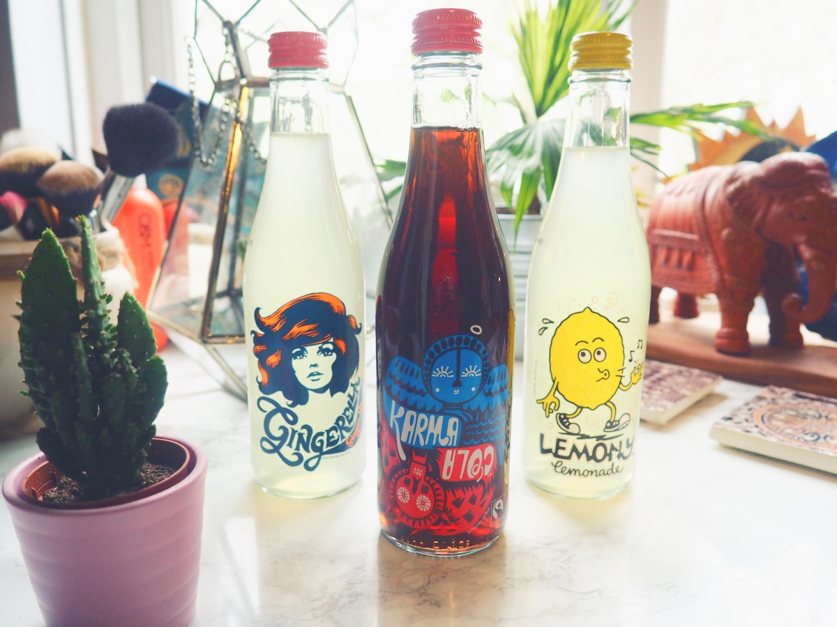 Karma Cola Drinks Gingerella & Lemony Lemonade Waitrose