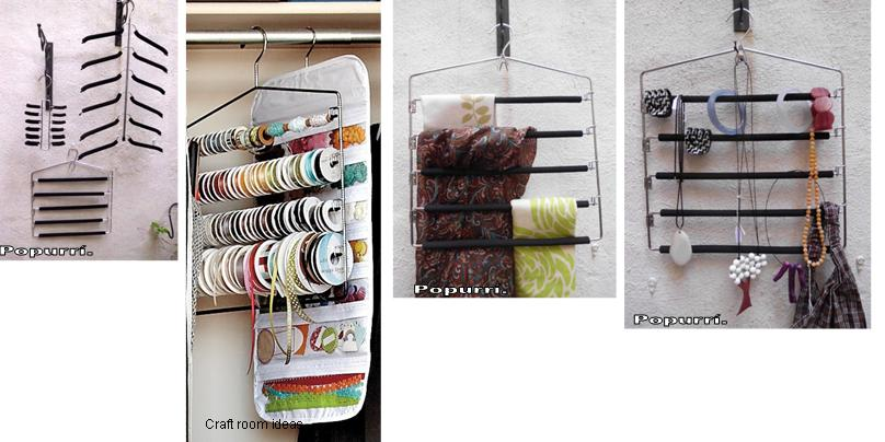 para poner orden en tus armarios para ordenar tus chales bufandas bisutera estas perchas mltiples resultan muy prcticas