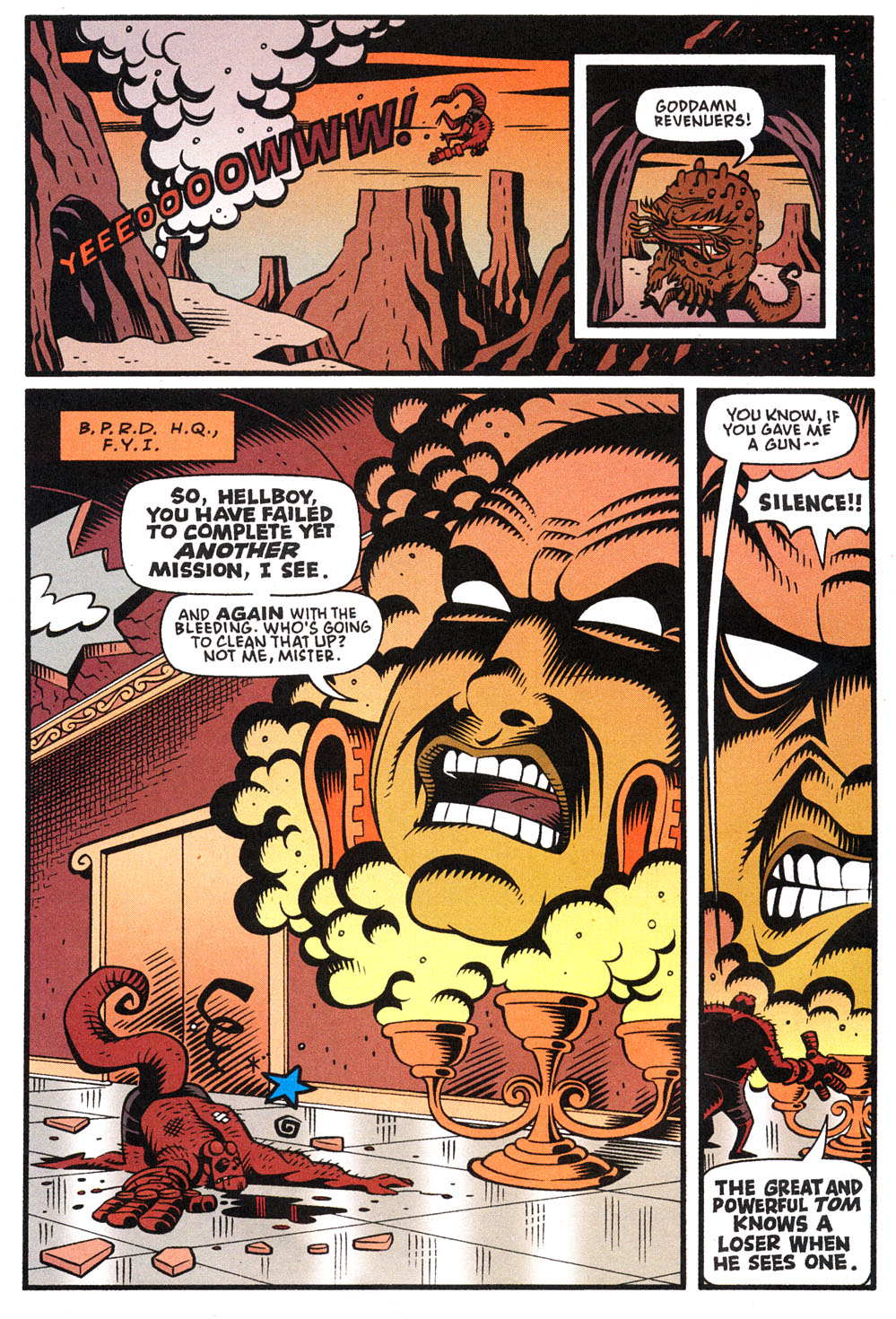 Read online Hellboy: Weird Tales comic -  Issue #4 - 16