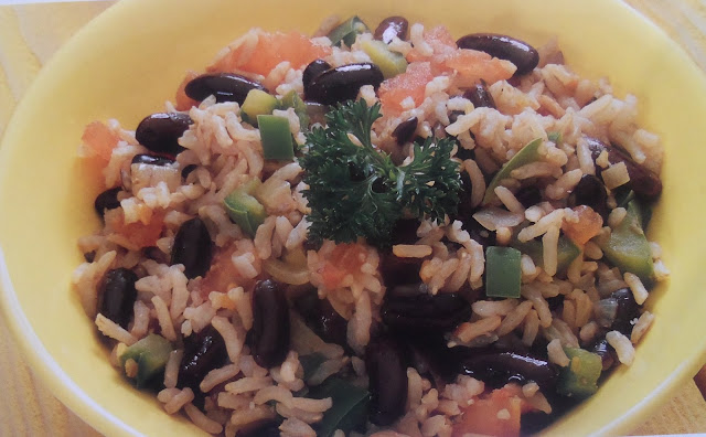 What to Eat for Lunch: Black Beans and Rice