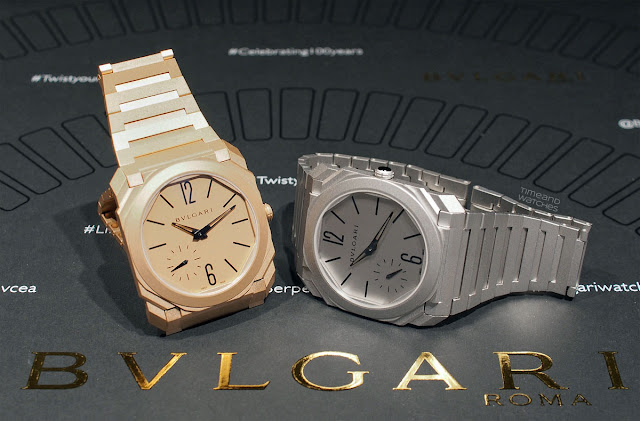 Bulgari Octo Finissimo Automatic Sandblasted, new 2018 models