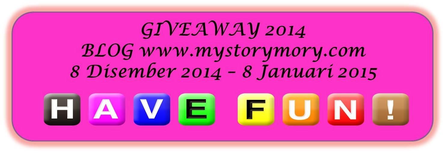 Giveaway 2014 Bersama MyStoryMory.com