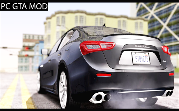 Free Download Maserati Ghibli 2014 Mod for GTA San Andreas